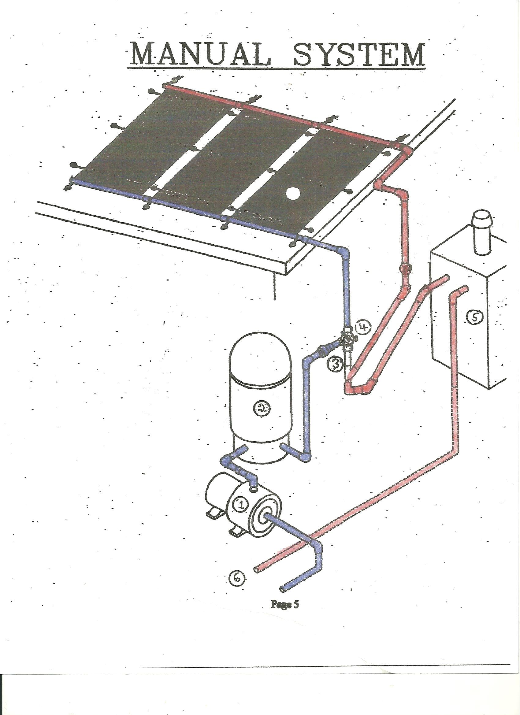 Swimming Pool Heaters. WEB MANUAL SOLAR SYSTEM. Above Ground Swimming  #424F89